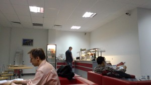 """Бизнес-зал в зоне вылета внутренних рейсов нового терминала """"Пулково"""""""