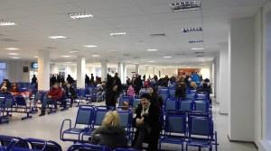"""Временный зал ожидания в новом терминале """"Пулково"""""""
