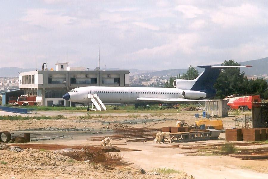 Ту-154 и после посадки на брюхо взлетает ОК