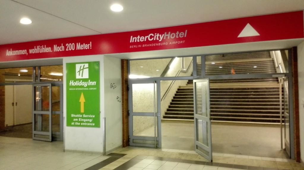 Выход в отель InterCity
