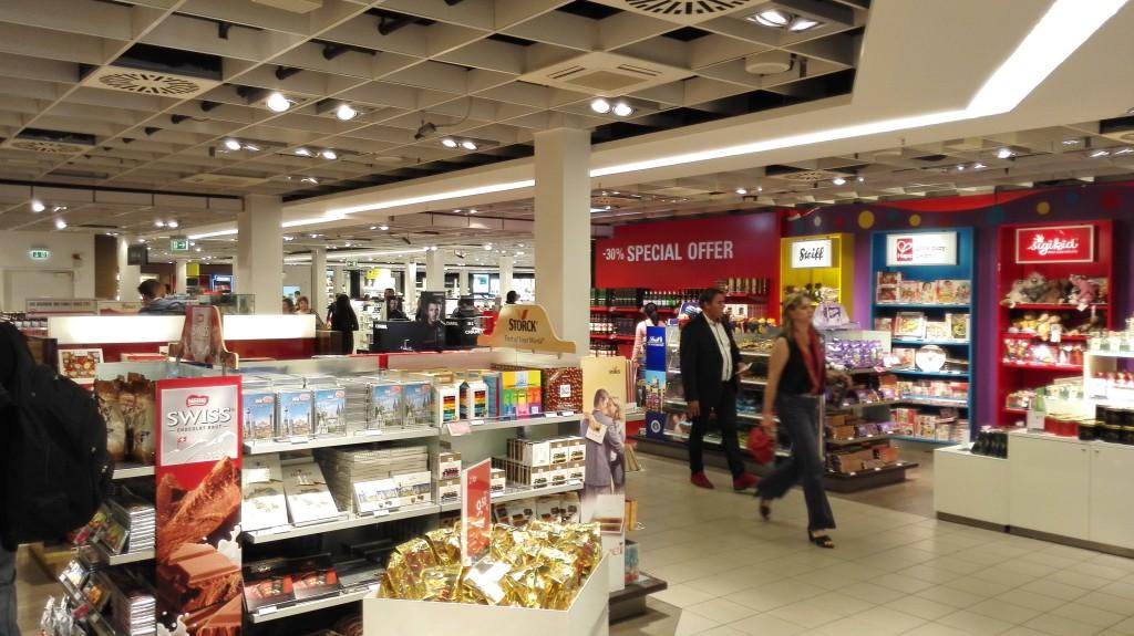 Магазин Duty Free в Шенефельде