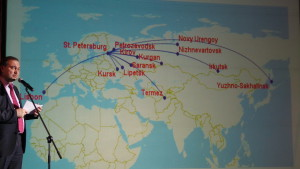 Новые маршруты из Пулково в 2014 году