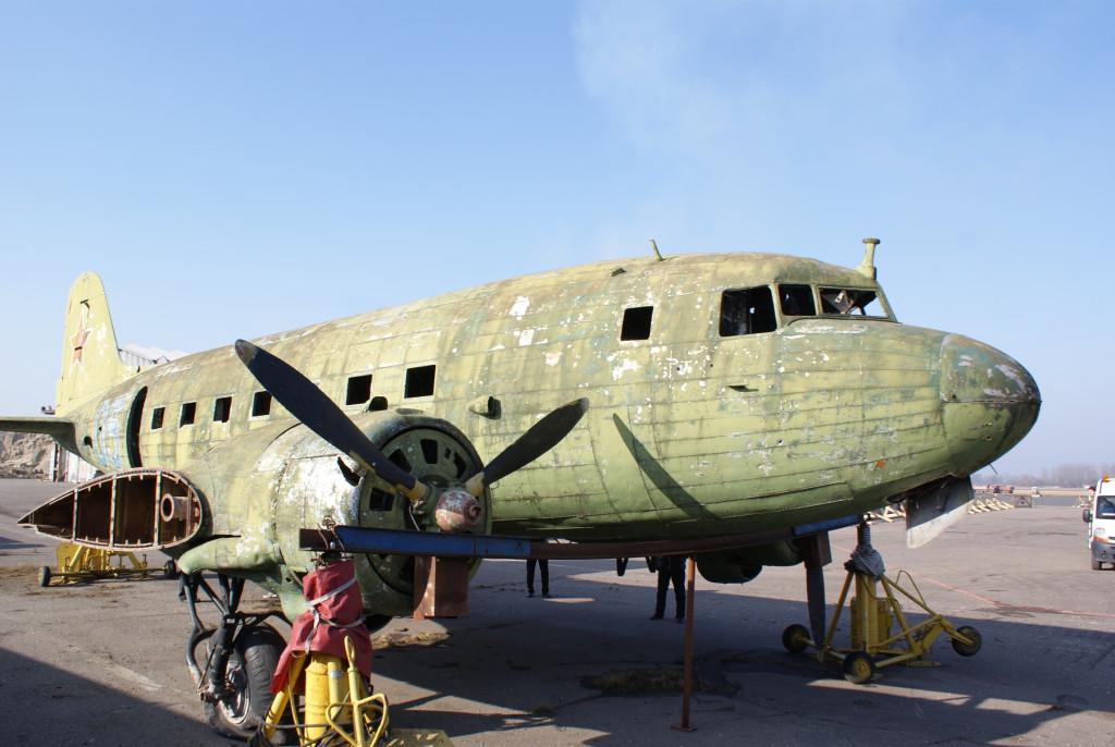 Ли-2 в Храброво