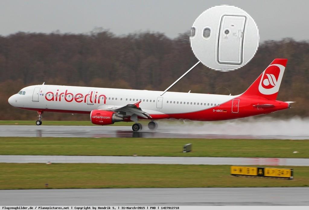 Это A321 для экономных пассажиров: туалеты здесь есть только в передней и хвостовой частях самолета, в середине они отсутствуют.