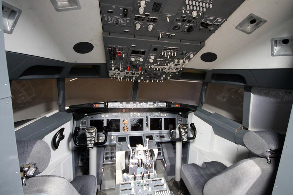 Boeing 737NG отдыхает.