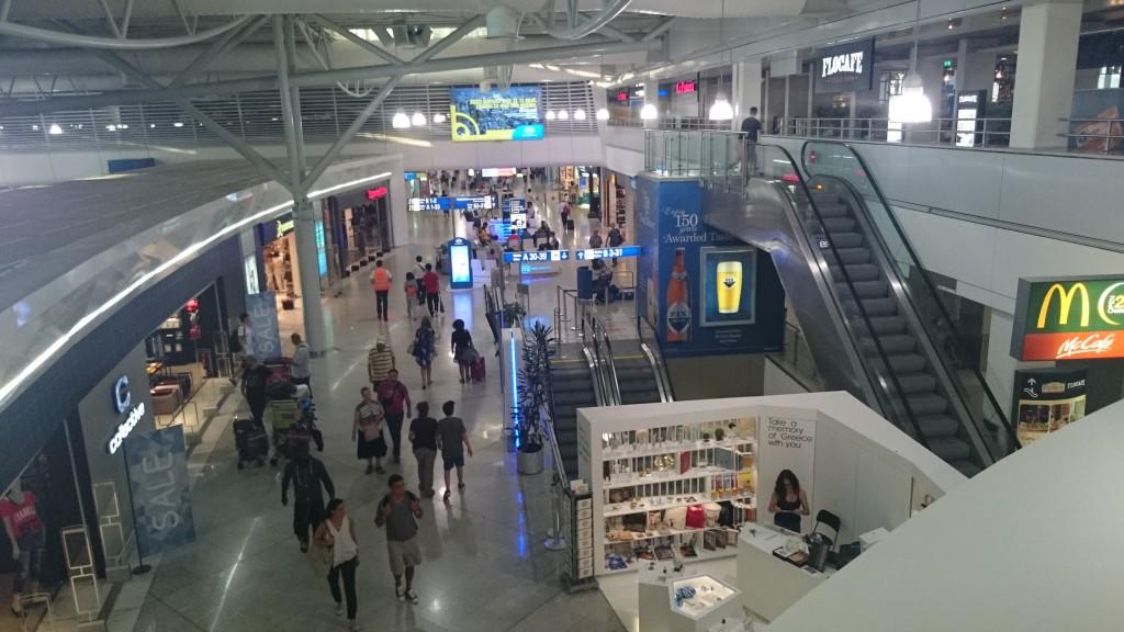 Магазины в аэропорту Афин