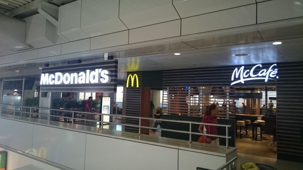 McDonald's в аэропорту Афин