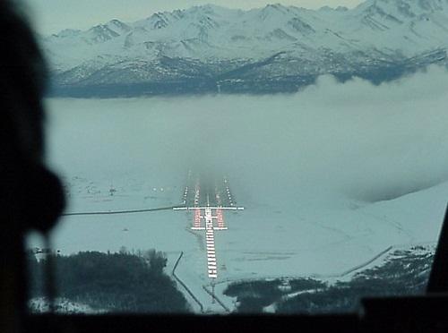 Плотный туман может помешать посадке.