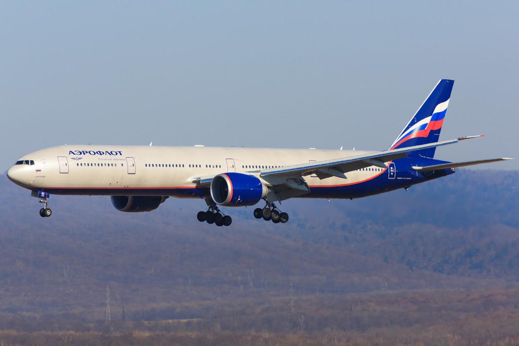 Aeroflot_-_Russian_Airlines,_Boeing_777-300ER,_VP-BGC