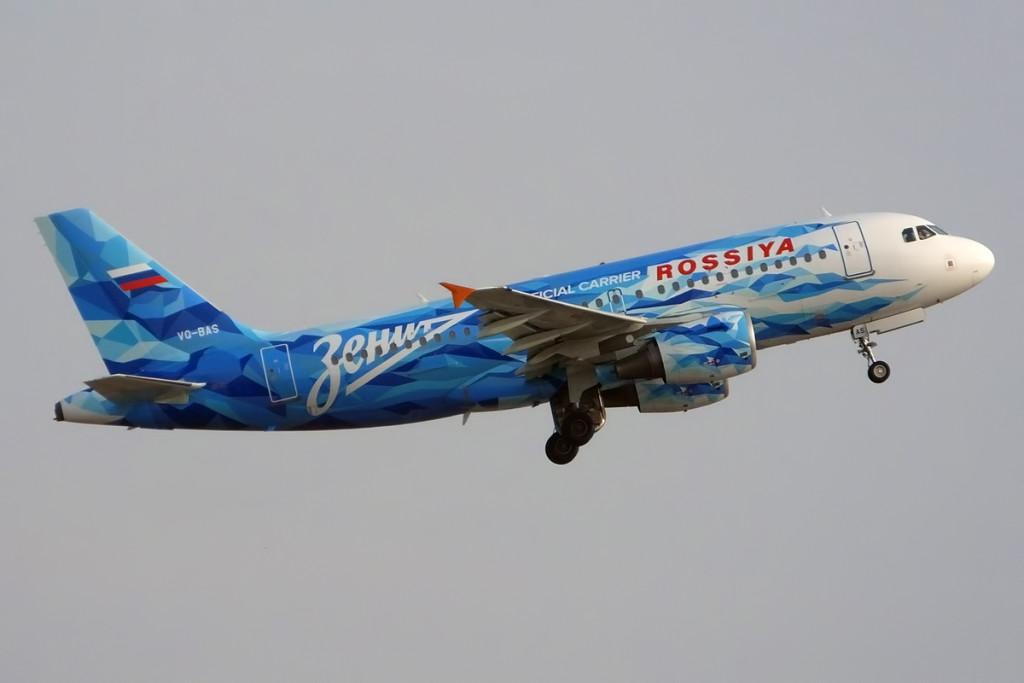 Rossiya_(FC_Zenit_St._Petersburg_livery),_VQ-BAS,_Airbus_A319-111_(16785228539)