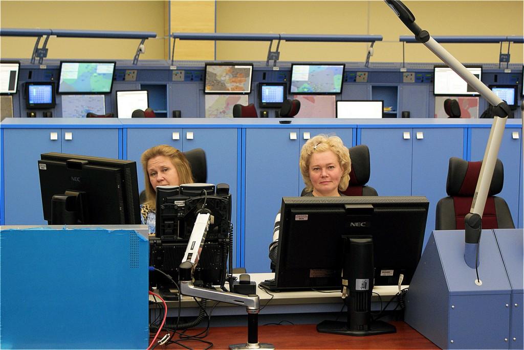 Женщин-диспетчеров 15-18%, в 45 лет они выходят на пенсию