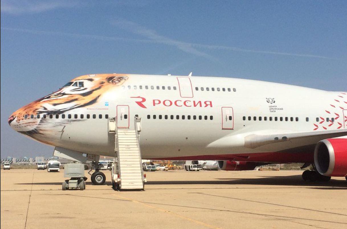 боинг 747-400 схема салона трансаэро симферополь