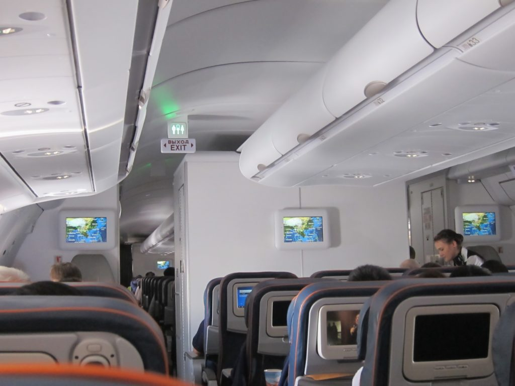 Cabin_of_Aeroflot_Airbus_A333,_economy_class