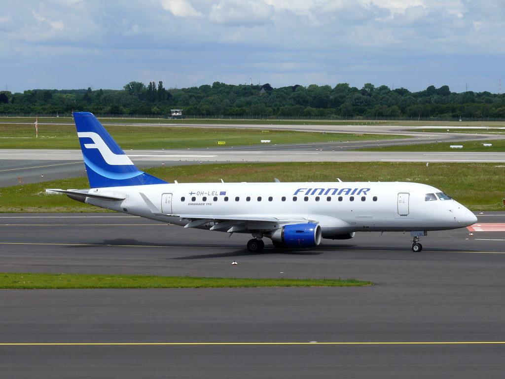 Embraer E-170 авиакомпании Finnair